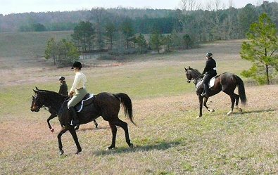 The weather was perfect for a ride through the beautiful countryside of Kingston Downs where the Atlanta Steeplechase is held each April.