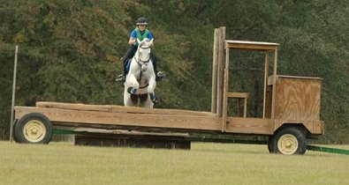 Amanda and Grayboo attended an Ian Stark clinic October 19-21 at Pine Top Farm