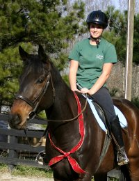 Megan Brown and Irish Morning Mist - December 23, 2005