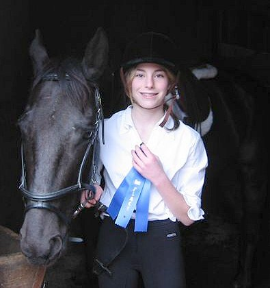 Gabi & Stanley win their first blue ribbon