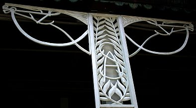 Iron work from Saratoga Race track in Saratoga, NY