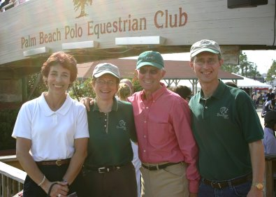 March 2006 found Elizabeth and Barry at the WEF in Wellington, Florida.