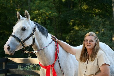 OTTB - Cobb County was purchased by Kelly Fortner of Sautee Nacoochee, GA