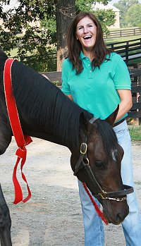 Congratulations to Missy Miller on the purchase of Stevie Loverboy. September 9, 2007