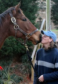 Show Master meets his new mom. February 27, 2007