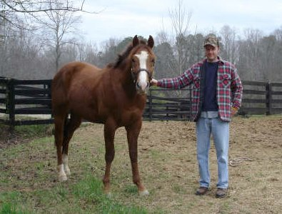 Fizzicus and his dad David Curtis. February 24, 2007