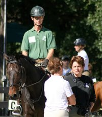 Barry Zuber and Elizabeth Wood put on clinics for their boarders and buyers to learn from.