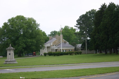 Visitor Center at Chickamauga Battlefield
