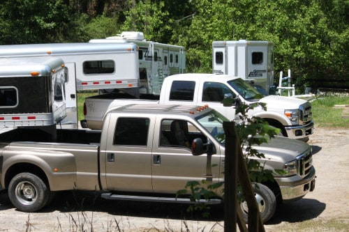 Ford Trucks and 4 Star Trailers