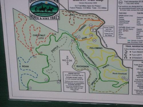 Garland Mountain Trail Map