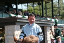 Kent Desormeaux is the winning jockey.