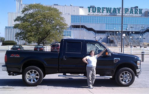 Suellen and The Truck