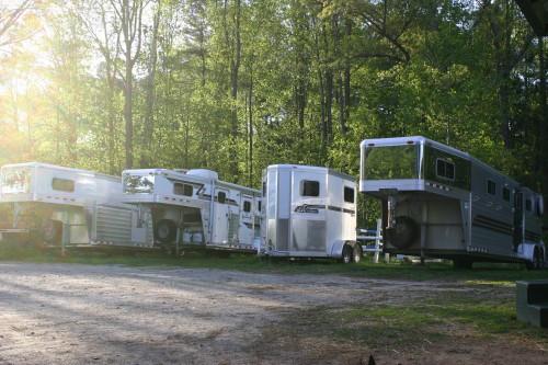 Horse Trailers at Bits & Bytes Farm