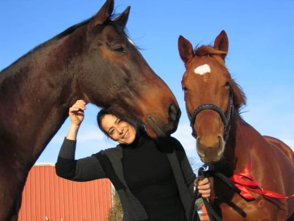 Wayfinder with his mom Sandra LaCava Wilson