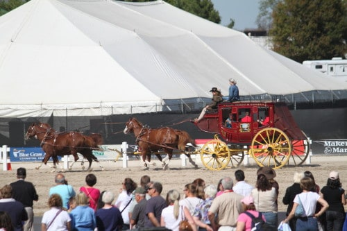 Wells Fargo Stagecoach at the WEG