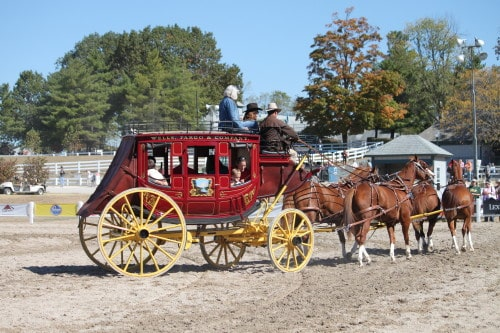wWells Fargo Stagecoach at the WEG
