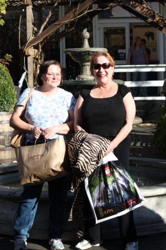 Suellen and Susan at the Kentucky Experience