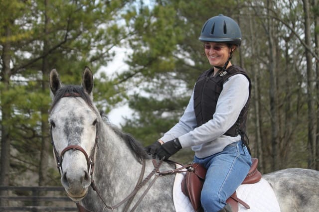 Mary Catherine Paris and Young Joe - Second Ride - January 25, 2012
