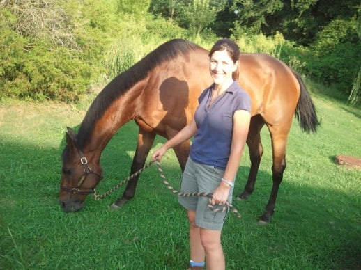 Gold Commander One with his mom Jennifer Himes