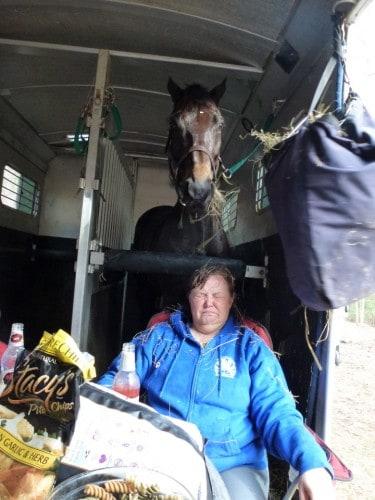 Deny shares his hay with Suellen