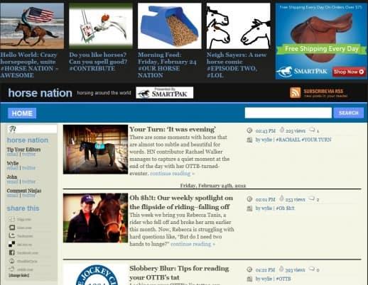 Horse Nation Web site
