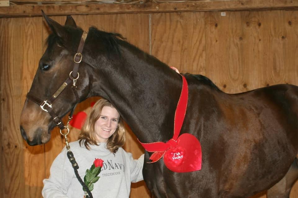 Valentine's Day Past at Bits & Bytes Farm