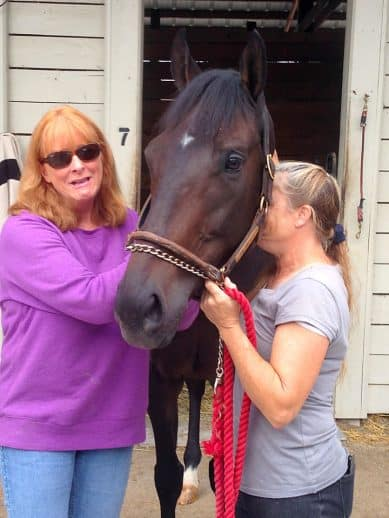 Do I Do says good-bye to race owner and groom