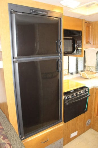 Large refrigerator and freezer